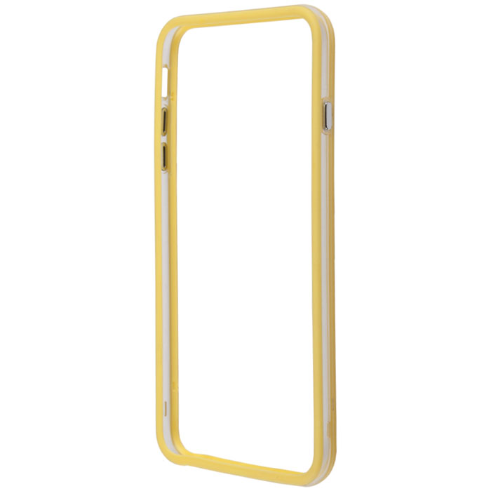 Liberty Project Bumpers чехол-накладка для iPhone 6 Plus, Clear Yellow аксессуар чехол platinum для iphone 6 plus 0 3mm yellow matte 4103949