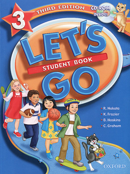 Let's Go 3: Student Book (+ CD-ROM) oxford phonics world 2 student book 2 cd rom