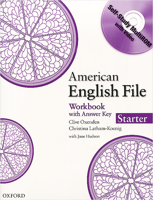 American English File: Workbook: Starter: Level А1 (+ CD-ROM) chiaro level b1 libro cd rom cd audio