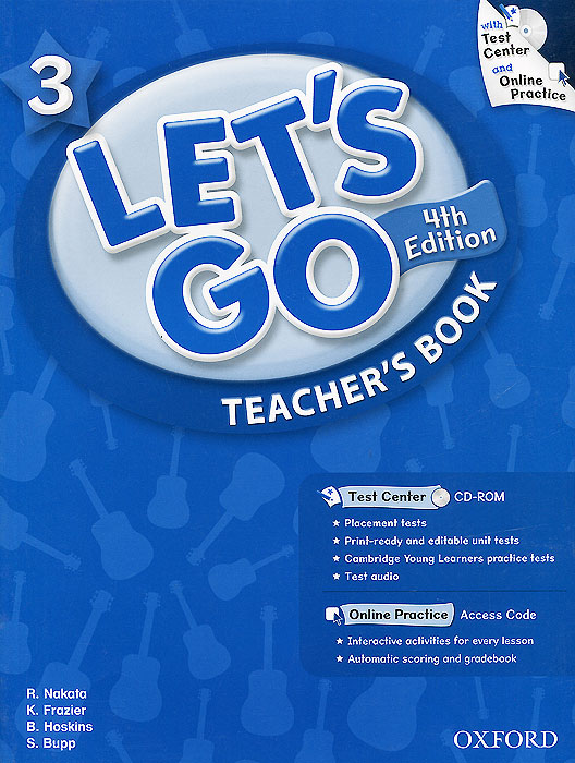 Let's Go 3: Teacher's Book (+ CD-ROM) think 5 student s book with online workbook and online practice