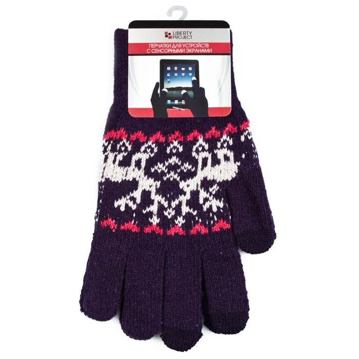 Сенсорные перчатки Liberty Project теплые перчатки для сенсорных дисплеев liberty project олени s violet r0000503