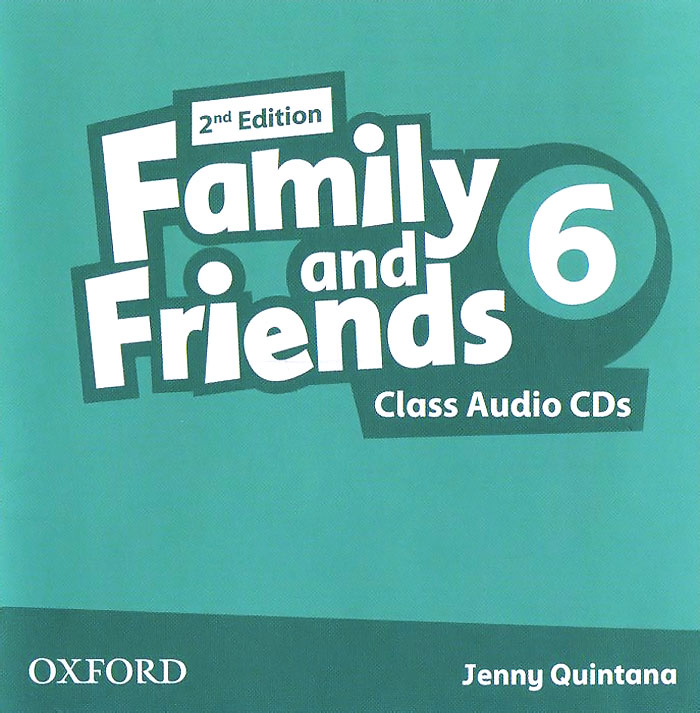 Family and Friends: Level 6: Class Audio CDs (аудиокурс на 3 CD) family and friends 3 class book cd rom