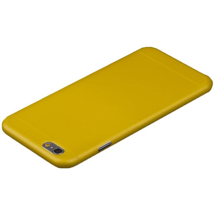 Liberty Project защитная крышка 0,4 мм для iPhone 6 Plus, Yellow стоимость