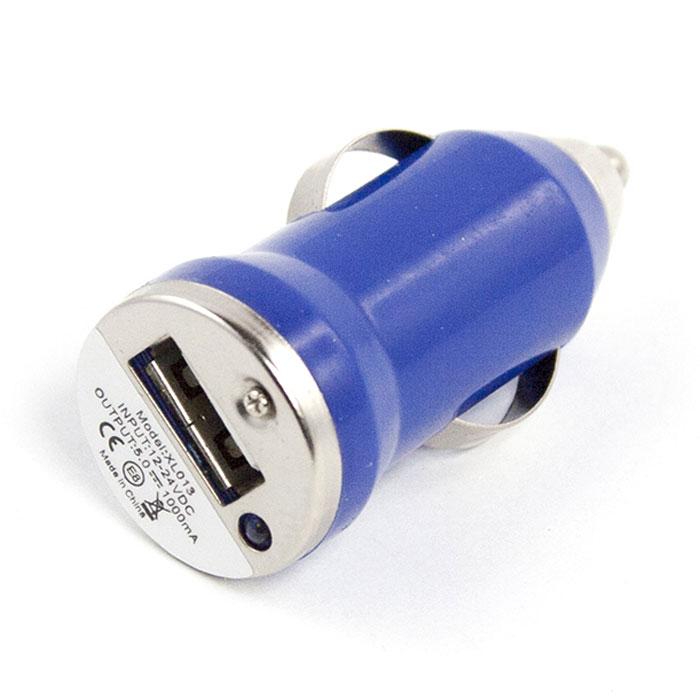 Liberty Project автомобильное ЗУ 1 А, Blue автомобильное зарядное устройство technoking зу 75и для аккумуляторов 6 12 в 10 а 46430 красный