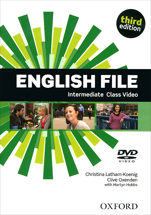 English File: Intermediate (аудиокурс на DVD-ROM)