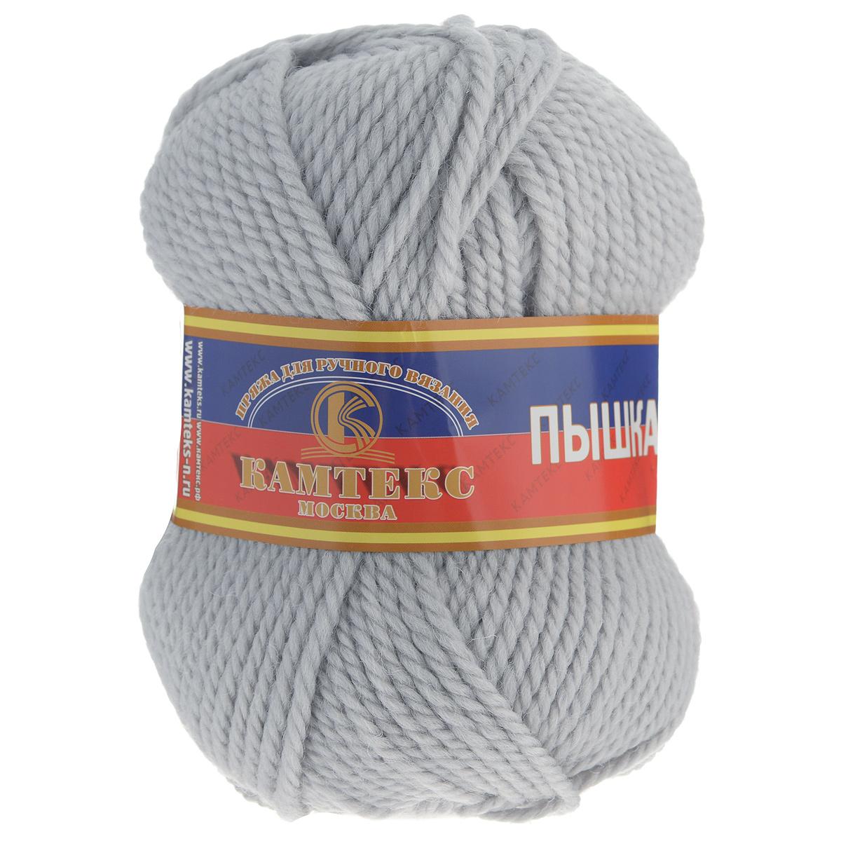 Пряжа для вязания Камтекс Пышка, цвет: жемчужный (106), 110 м, 100 г, 10 шт пряжа для вязания камтекс семицветик цвет розовый 056 180 м 100 г 10 шт