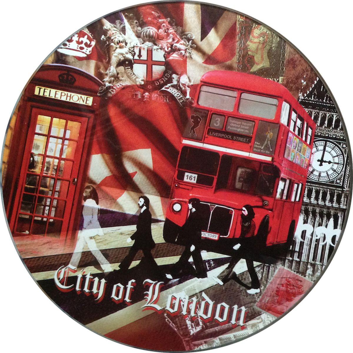 Разделочная доска Gift'n'Home RCB-London, Стекло стеклянная доска gift n home page 2 page 7