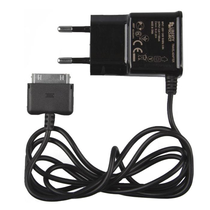Liberty Project зарядное устройство 1 А для Apple 30 pin аксессуар liberty project 3 in 1 micro usb apple 8 pin apple 30 pin blue r0005041