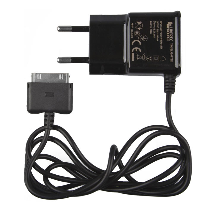 Liberty Project зарядное устройство 1 А для Apple 30 pin liberty project la 520 x сетевой блок питания для планшетов