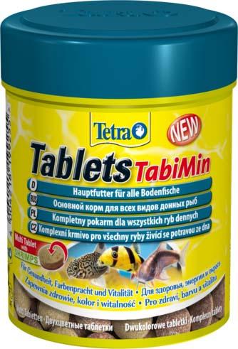 Корм сухой для донных рыб Tetra Tablets TabiMin, таблетки, 85 г tetra tabimin