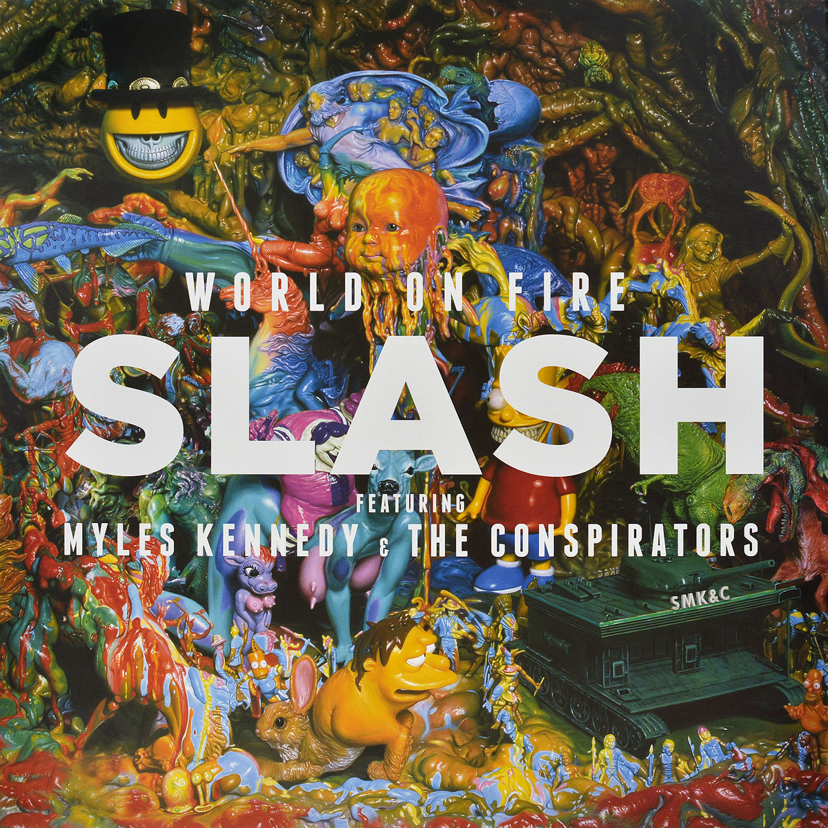 Slash Slash. World On Fire (2 LP) lp a650