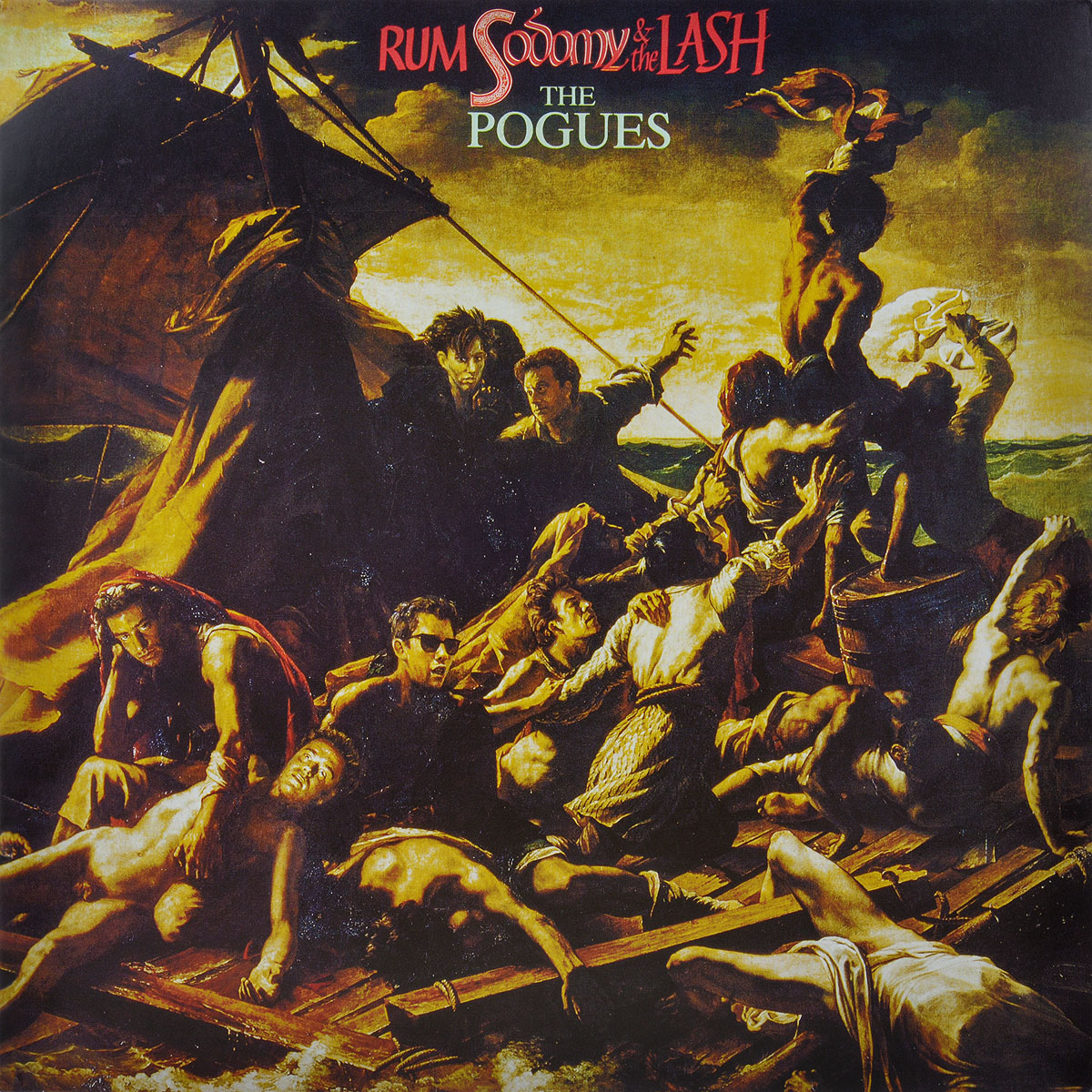 The Pogues. Rum Sodomy & The Lash (LP) the pogues peace and love lp