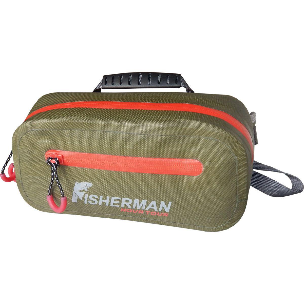Сумка Fisherman Nova Tour Фрог PRO, цвет: хаки, 2 л сумка fisherman nova tour фрог pro цвет хаки 2 л