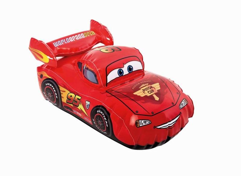 """Игрушка надувная Intex """"Cars"""", 30 см х 18 см, цвет: красный"""