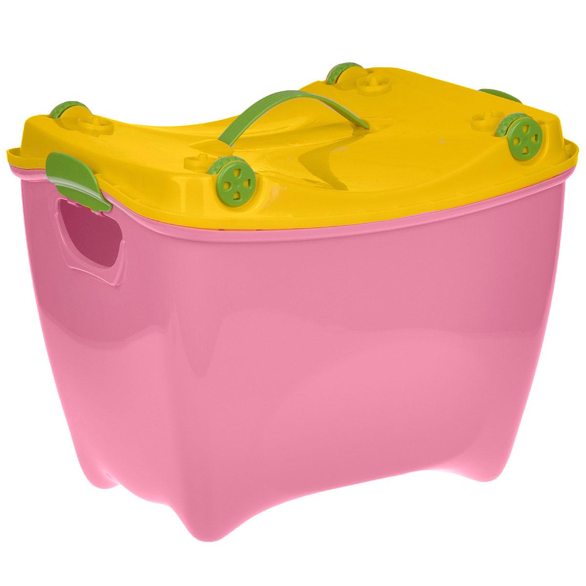 """Ящик детский """"Супер-Пупер"""", цвет: розовый"""