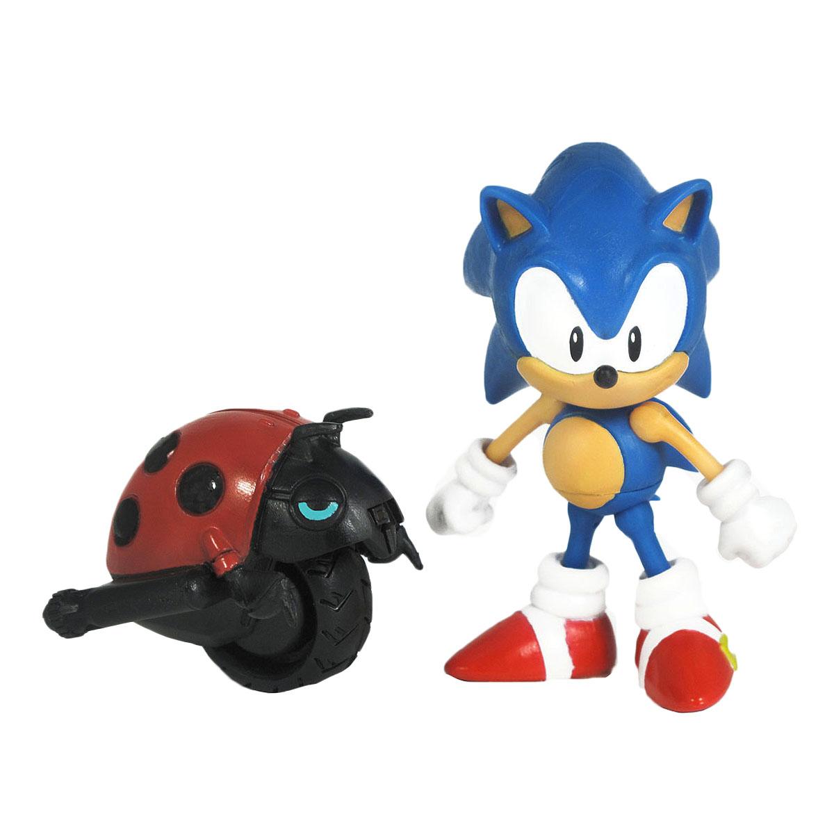 "Фигурка Sonic ""Sonic & Moto Bag"", с божьей коровкой"