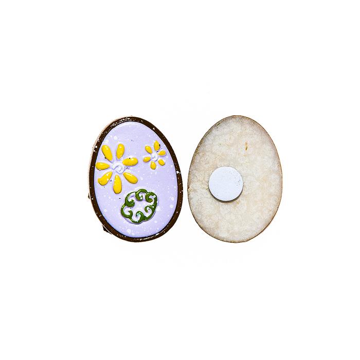 Фото - Набор декоративных украшений для яиц Home Queen Праздник, цвет: сиреневый, 6 шт набор переводных наклеек для яиц home queen пасха 6 шт