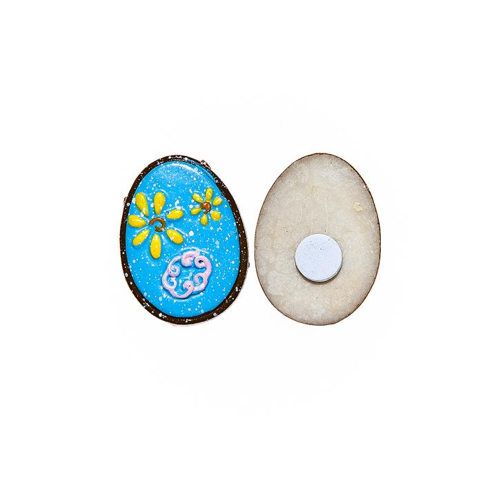 Фото - Набор декоративных украшений для яиц Home Queen Праздник, на клейкой основе, цвет: голубой, 6 шт набор переводных наклеек для яиц home queen пасха 6 шт