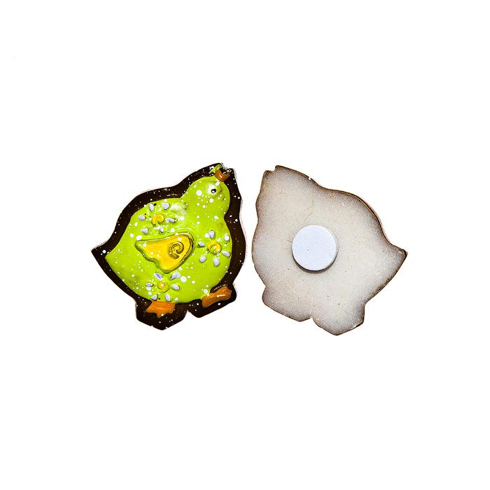 Фото - Набор декоративных украшений для яиц Home Queen Цыпленок, на клейкой основе, цвет: зеленый, 6 шт набор переводных наклеек для яиц home queen пасха 6 шт