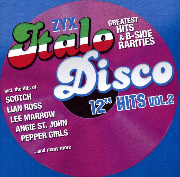 Italo Disco 12 Hits Vol. 2 (2 CD) milky disco three to the stars 2 cd