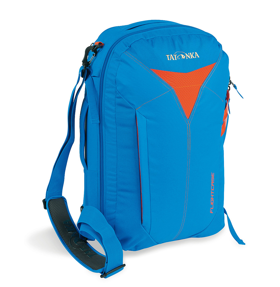 Сумка-рюкзак для путешествий Tatonka Flightcase, цвет: ярко-синий, 38 л сумка для фотокамеры tatonka protection pouch l