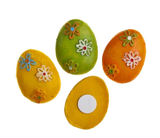 Фото - Набор декоративных украшений для яиц Home Queen Яйца, на клейкой основе, 9 шт набор переводных наклеек для яиц home queen пасха 6 шт
