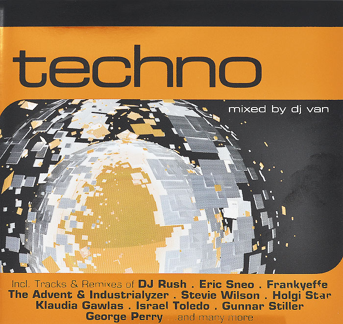 где купить Techno (2 CD) по лучшей цене