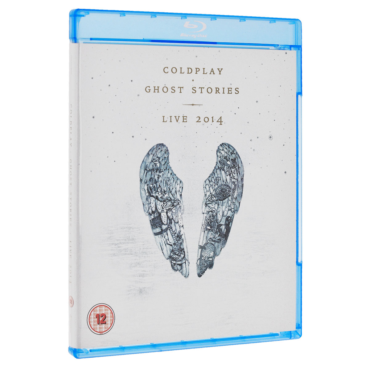 Coldplay. Ghost Stories. Live 2014 (Blu-ray + CD) аксессуар чехол для xiaomi redmi 5 innovation transparent 13141