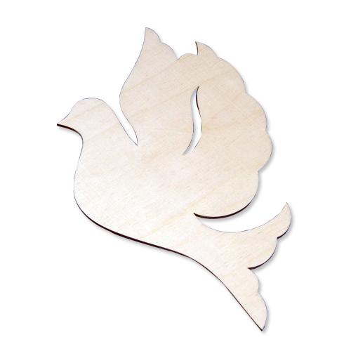Деревянная заготовка Голубь 15*12см (L-150) цена