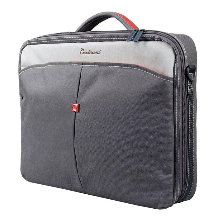 50e755d7d0cd Continent CC-02, Graphite сумка для ноутбука 15,6