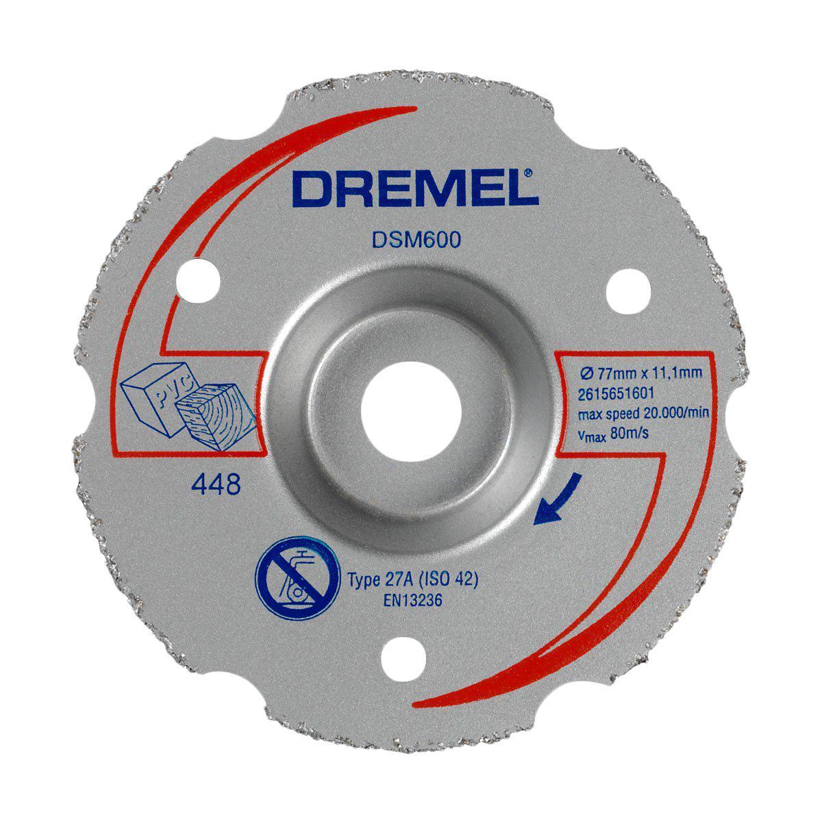 цена на Диск для резки дерева Dremel DSM600 для пилы Dremel DSM20
