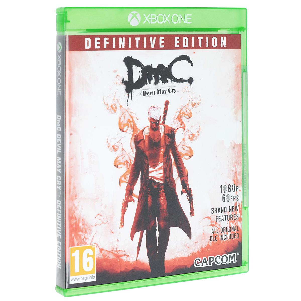 DmC Devil May Cry. Definitive Edition (Xbox One) цена