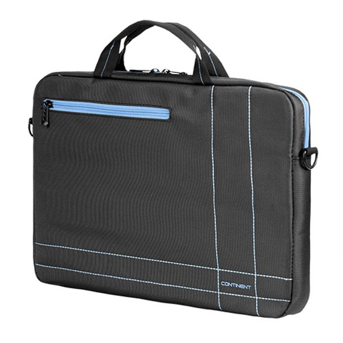 "Continent CC-201, Grey Blue сумка для ноутбука 15,6"""