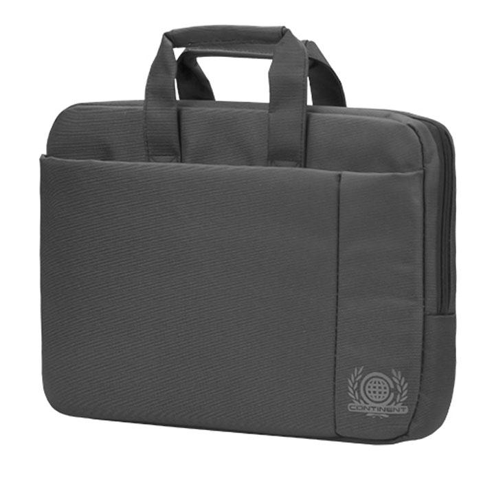 "Continent CC-215, Grey сумка для ноутбука 15,6"""