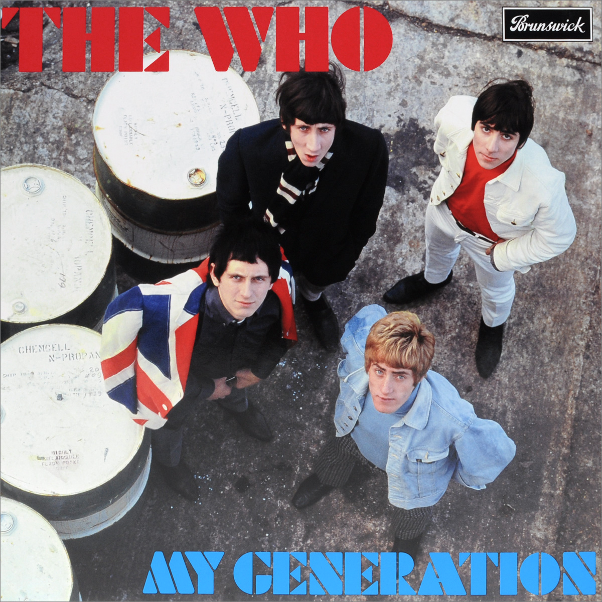 The Who The Who. My Generation (LP) the who the who my generation triple edition 3 lp