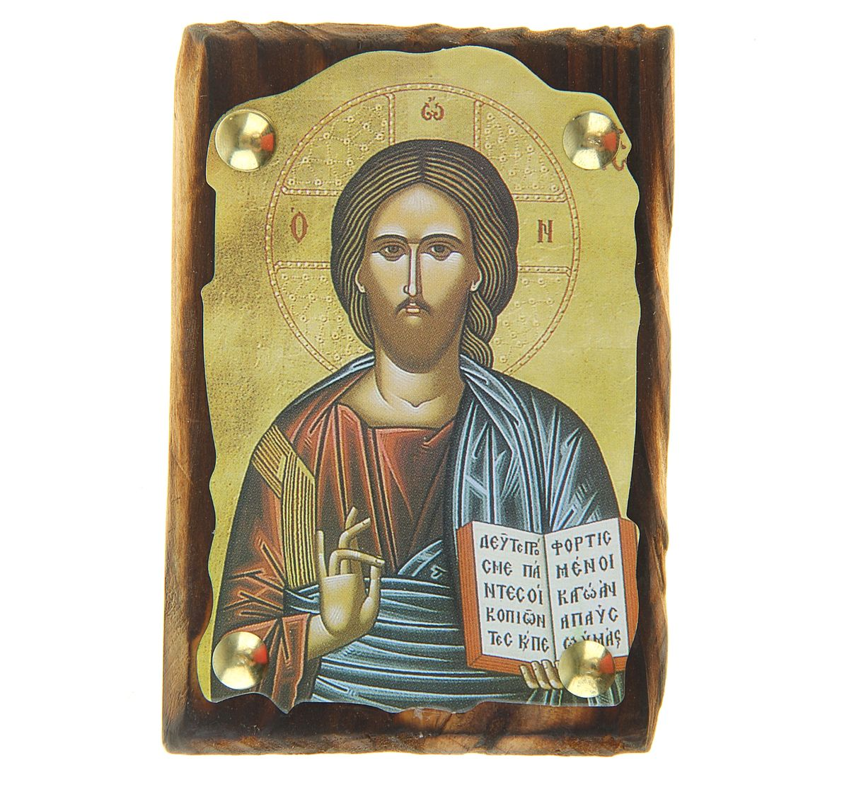 "Икона ""Иисус Христос"", 7,5 х 11 см"