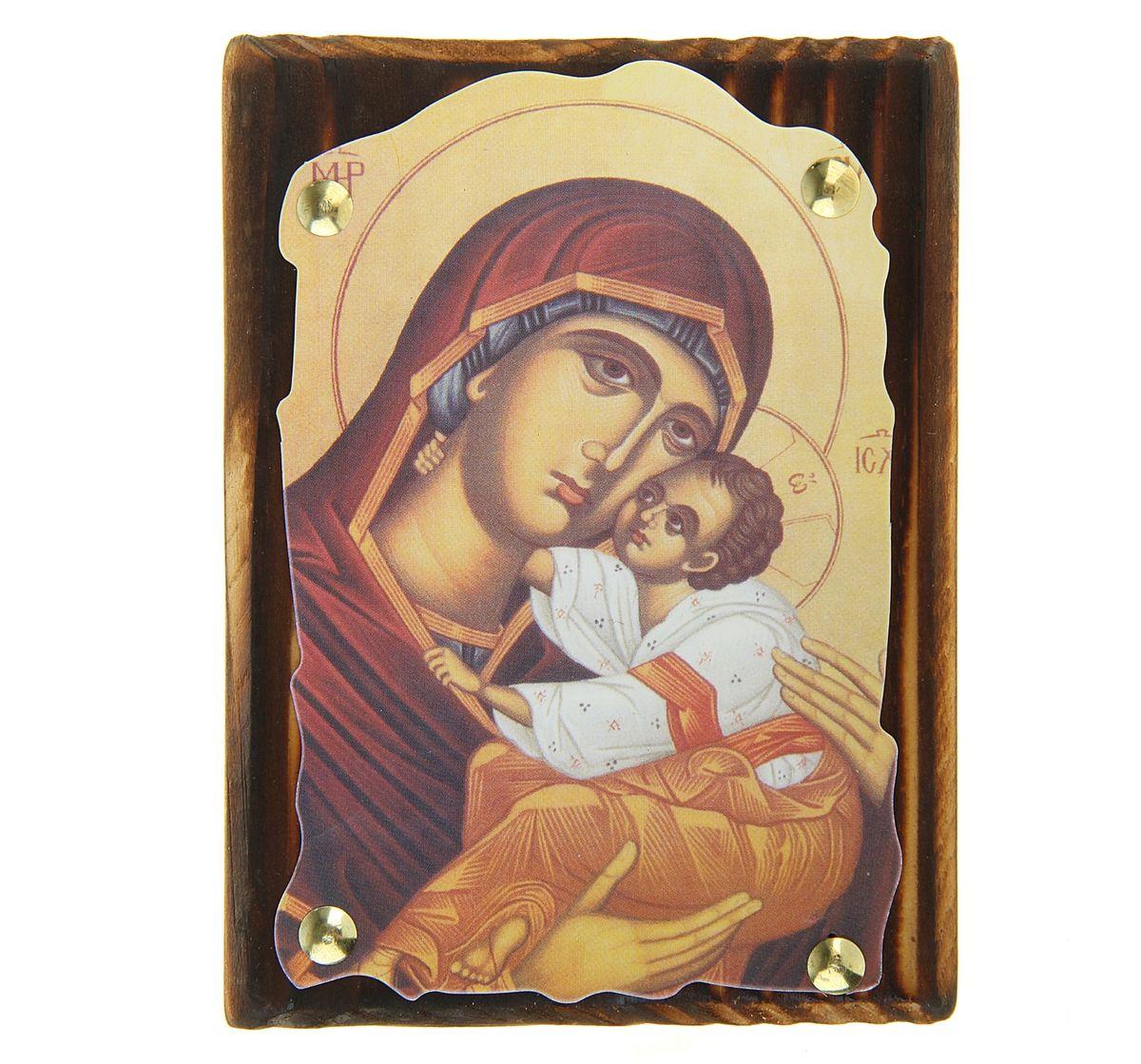 """Икона """"Пресвятая Богородица"""", 10,5 см х 14,5 см"""