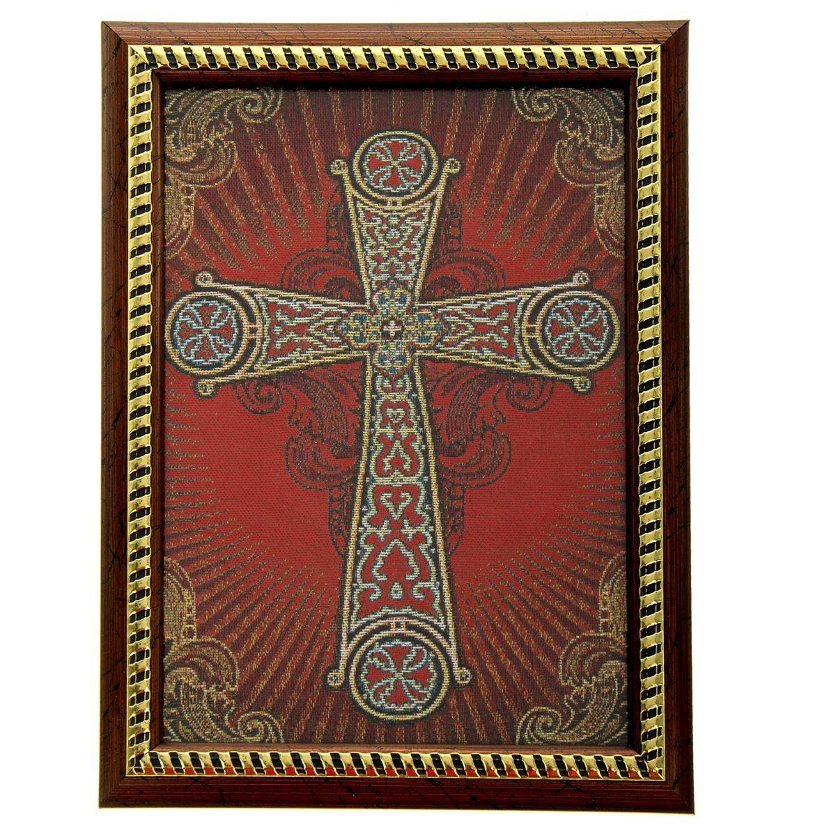 Икона в рамке Корсунский крест, 21 см х 27,5 см икона 6 мечей