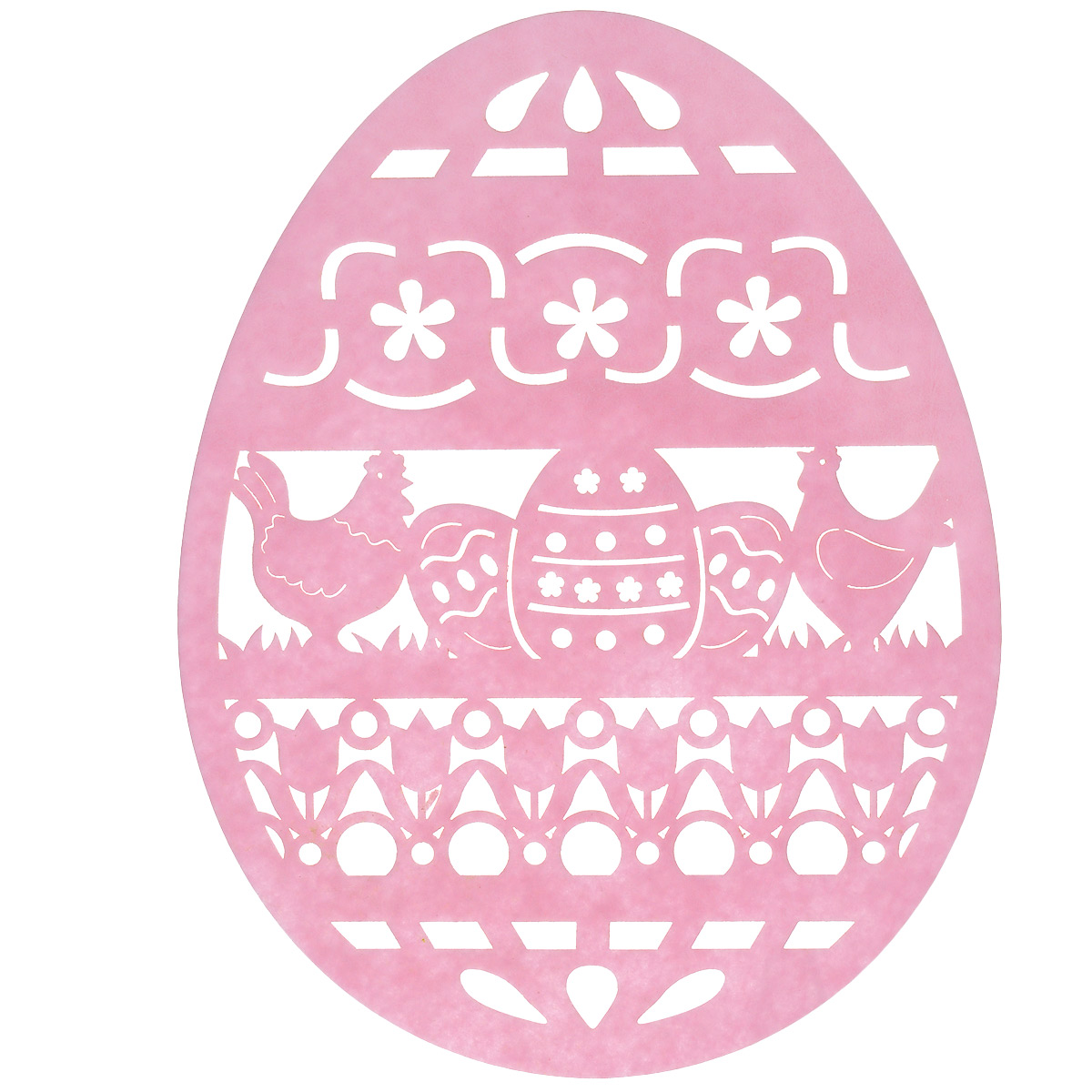 Салфетка Home Queen Веселый праздник, цвет: розовый, 25 х 33 х 0,2 см мебель 33 комода