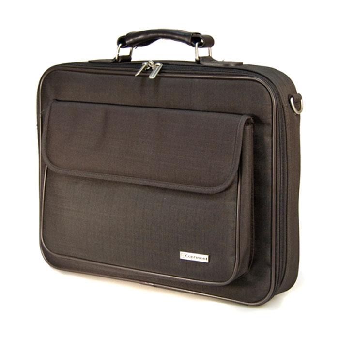 "Continent CC-03, Brown сумка для ноутбука 15,6"""