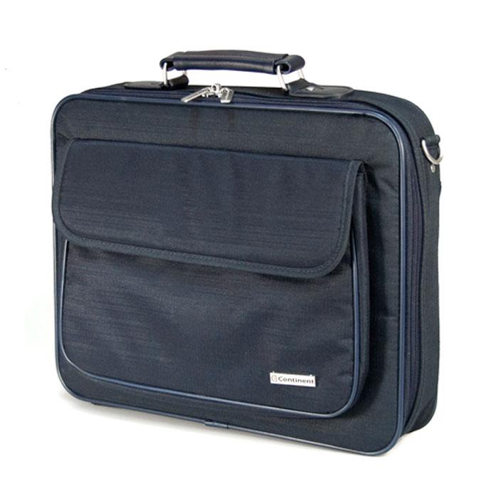 "Continent CC-03, Navy сумка для ноутбука 15,6"""