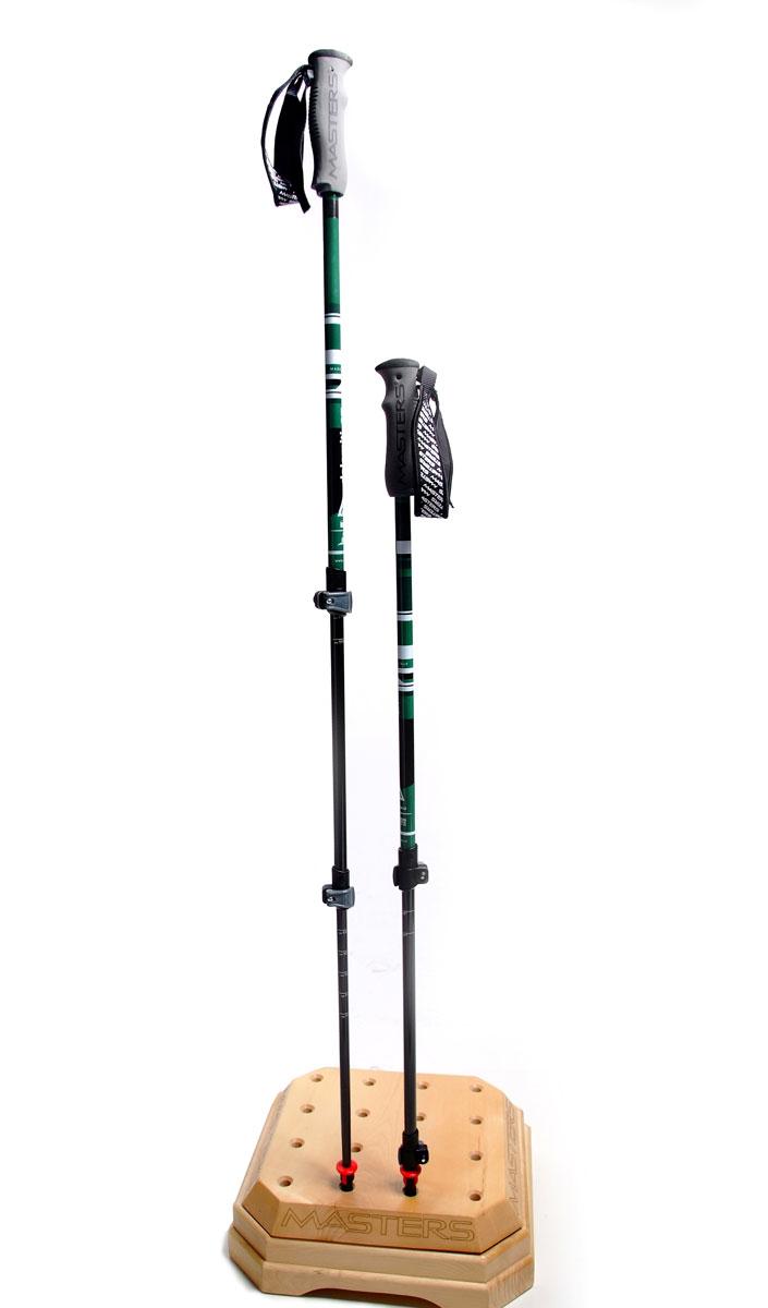 Палки для трекинга Masters Dolomiti GT, телескопические, 65-135 см