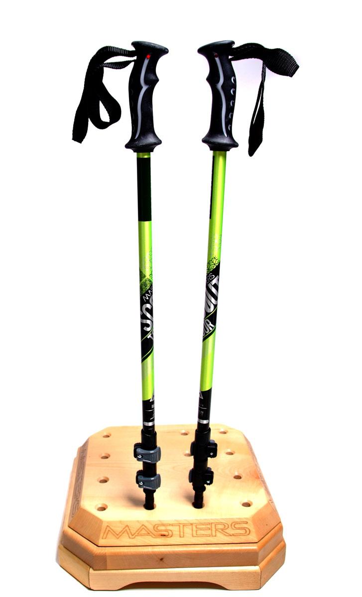 Палки для трекинга Masters Scout Tour Green, телескопические, 69-140 см