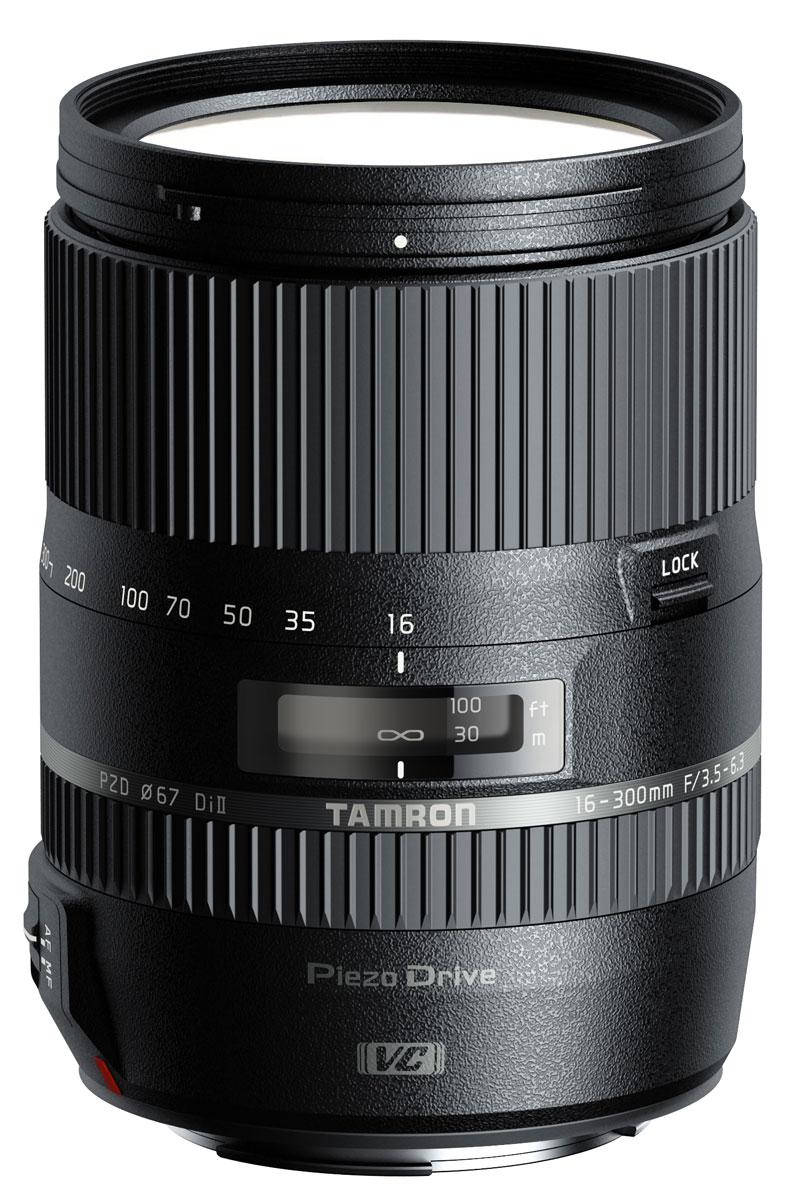 Объектив Tamron 16-300mm f/3.5-6.3 Di ll VC PZD Macro, Nikon