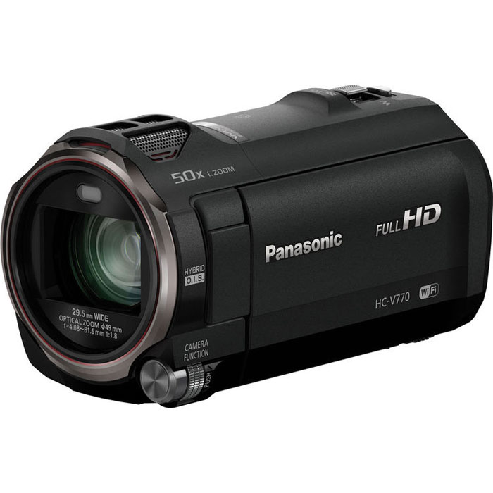 Видеокамера Panasonic HC-V770, Black
