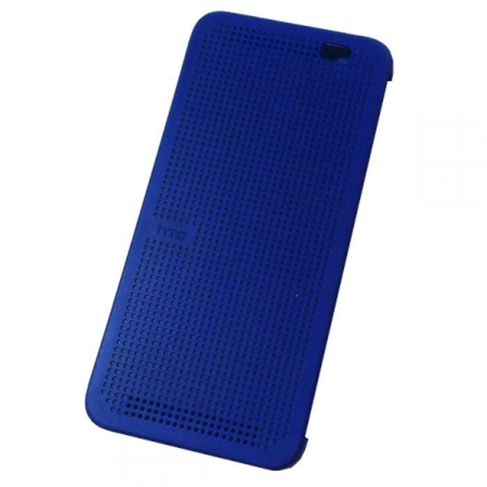 HTC HC M110 Dot Case чехол для One E8, Blue чехол для htc one m9 htc dot pink розовый