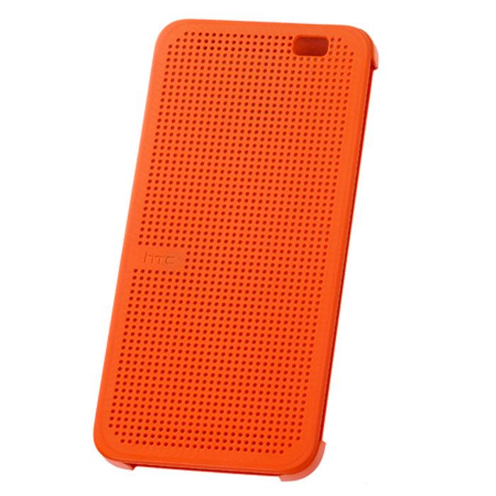 HTC HC M110 Dot Case чехол для One E8, Orange чехол для htc one m9 htc dot pink розовый