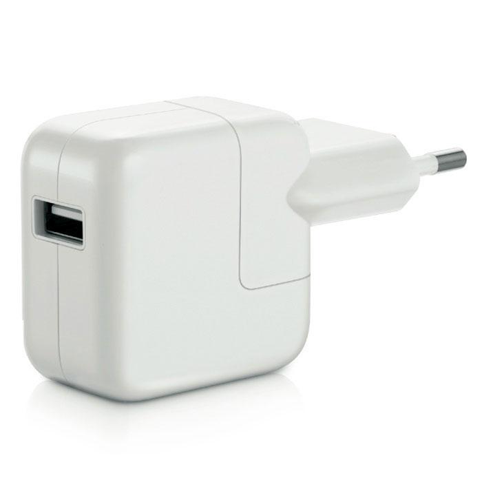 Apple USB Power Adapter 12W зарядное устройство (MD836ZM/A) недорго, оригинальная цена