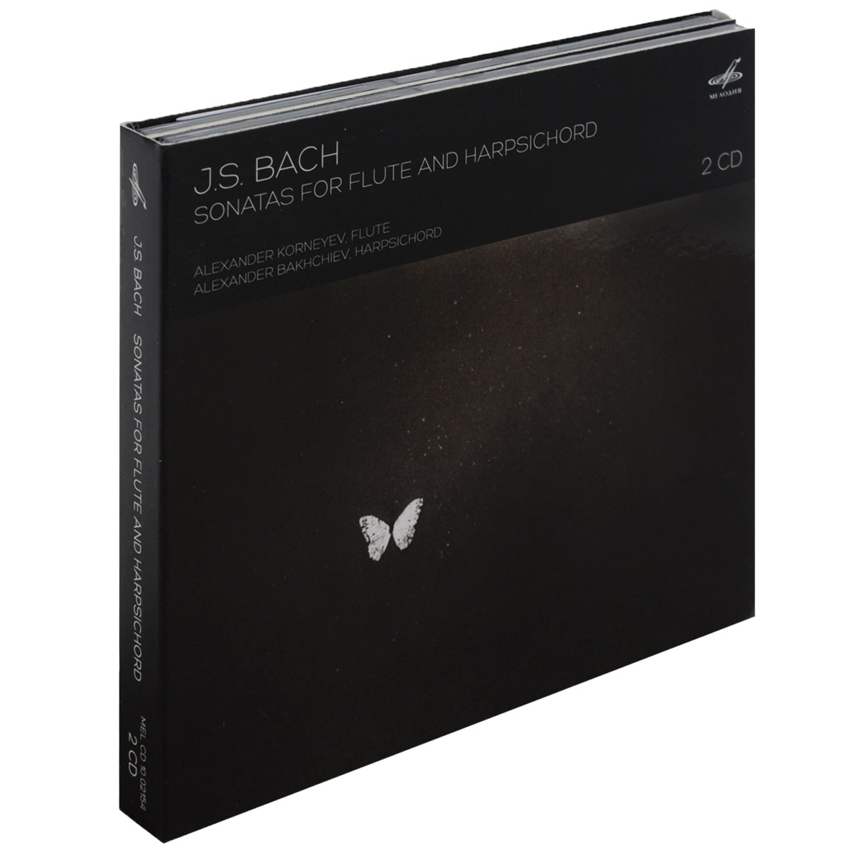 J. S. Bach. Sonatas For Flute And Harpsichord (2 CD) цены онлайн