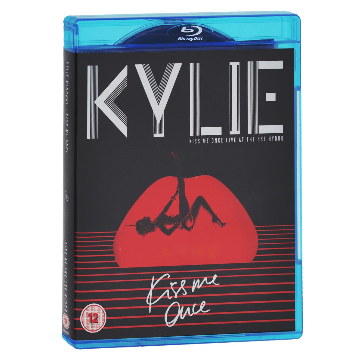 Кайли Миноуг Kylie Minogue. Kiss Me Once Live At The SSE Hydro (2 CD + Blu-ray) кайли миноуг kylie minogue kiss me once cd dvd